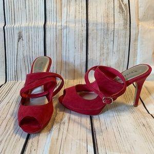 White House Black Market Shoes heels Size 8 Pink
